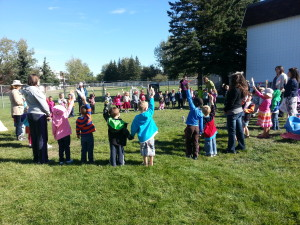 "Lethbridge Montessori Children sing ""Light a candle for Peace"" on September 20th for International Peace Day."