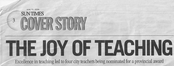 Sun Times - Teaching Awards